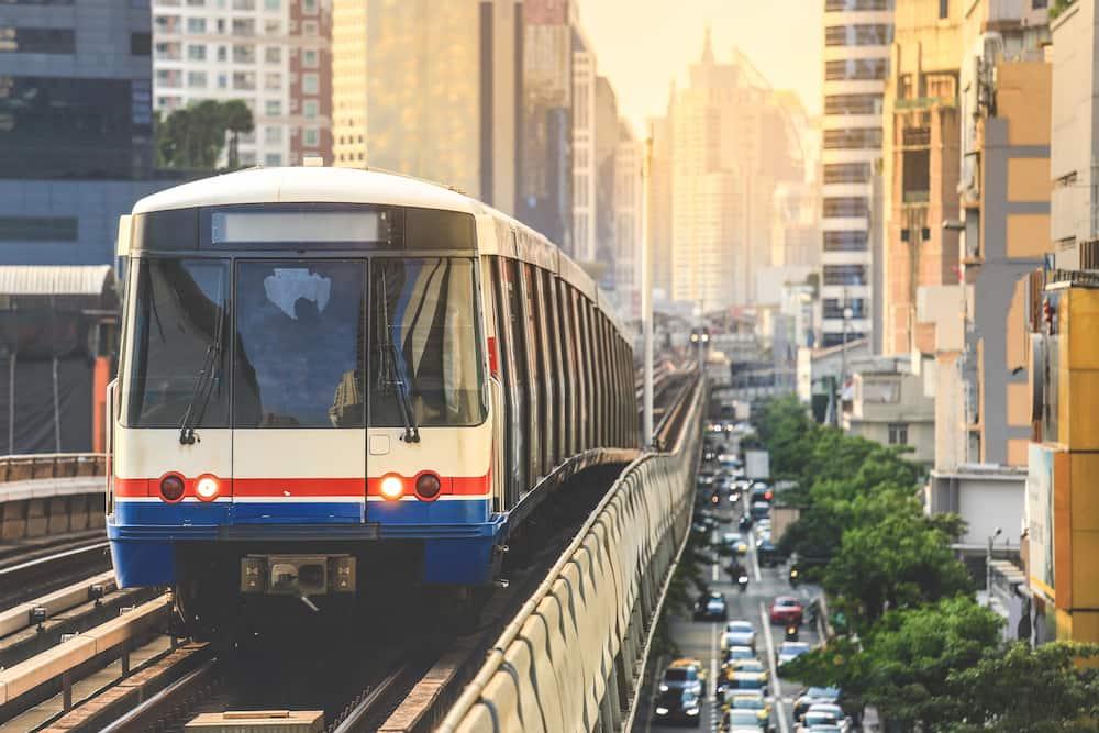 バンコク高架鉄道(BTS)の路線