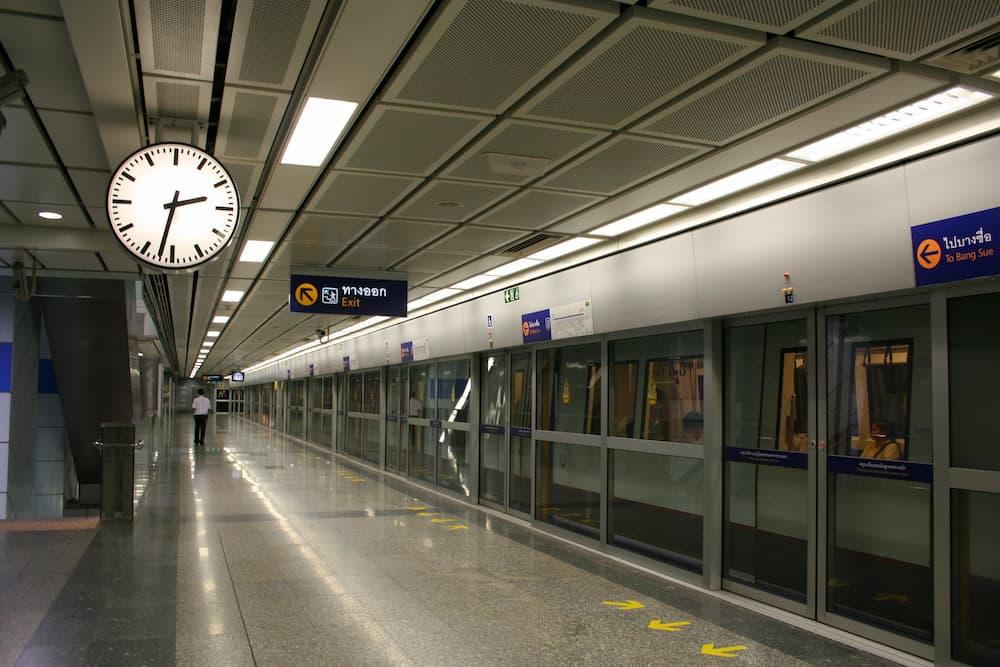 バンコク地下鉄(MRT)の路線